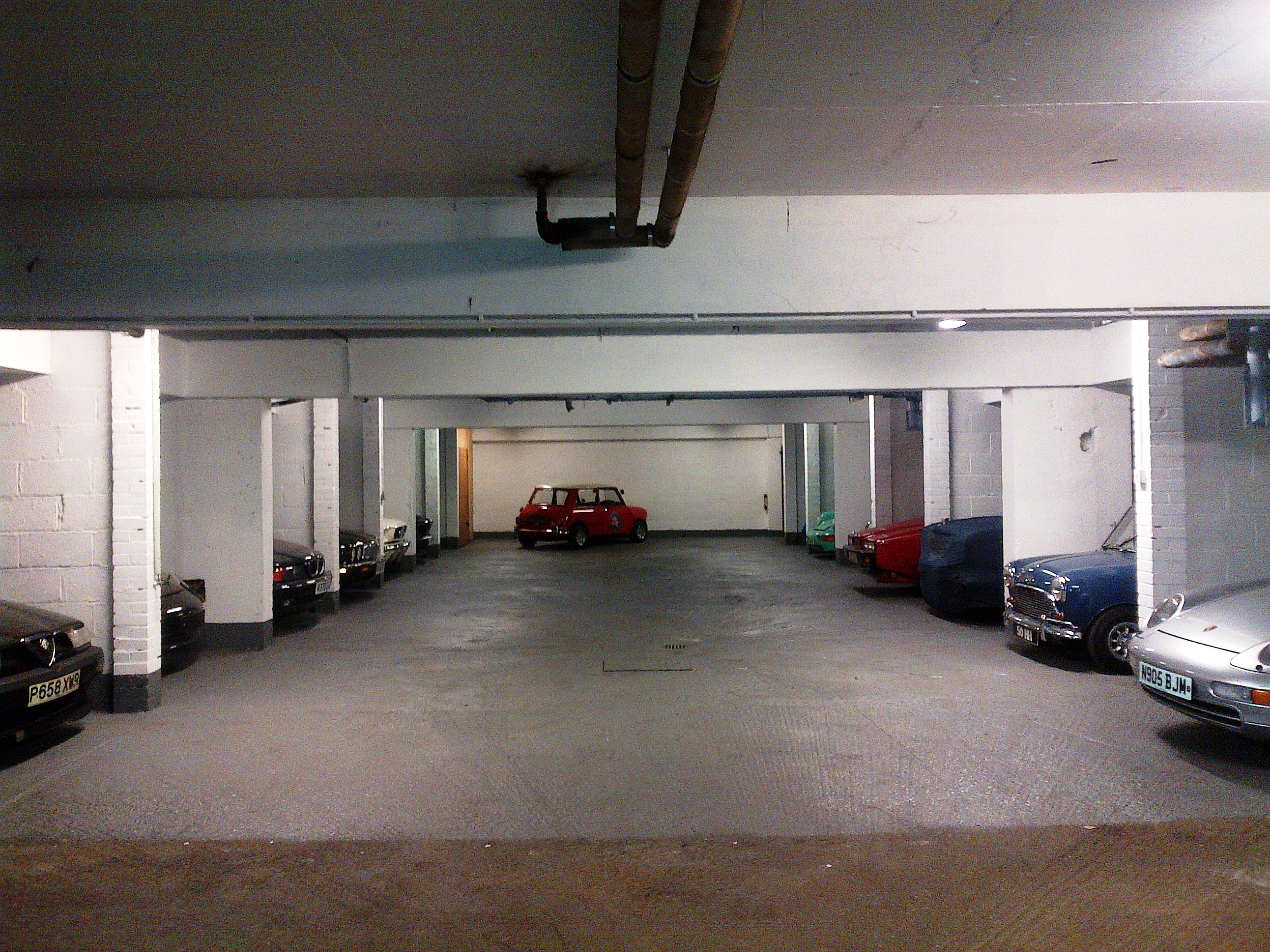 & Secure Central London Car Storage Civilised Car Hire