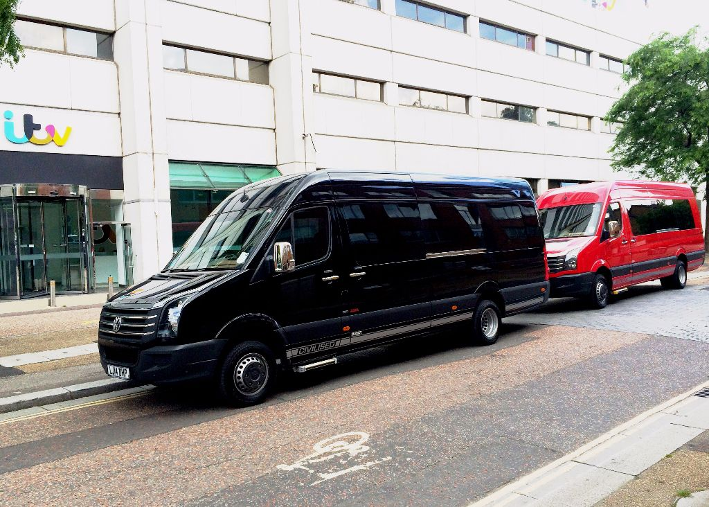 VW Crafter Pro-Crafter XL11-Seater Splitter Van