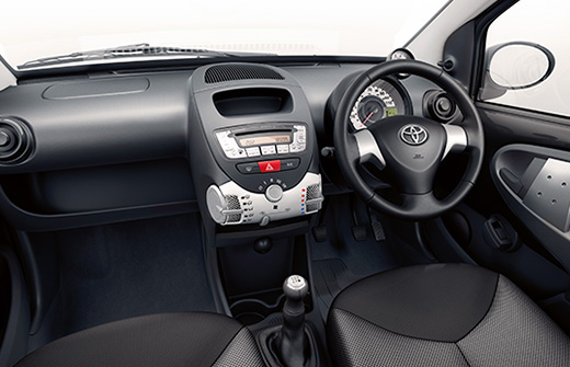 Aygo INTERIOR | Civilised Car Hire Civilised Car Hire