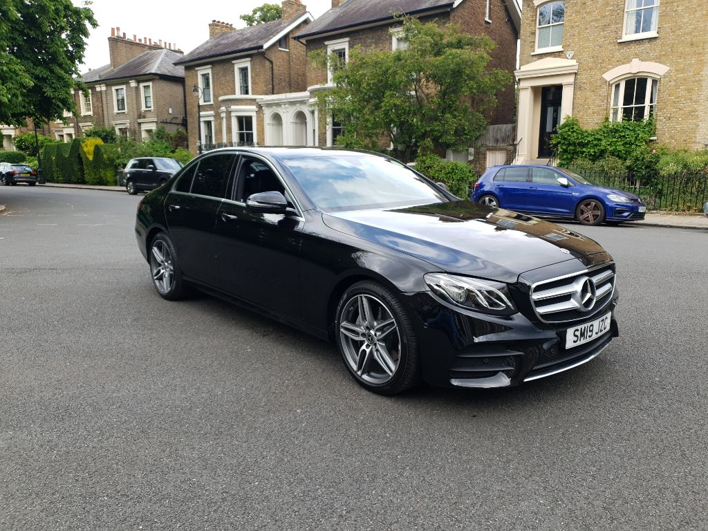 LEASE OFFER – Mercedes E Class 220d AMG LINE – PCO badge In-Date